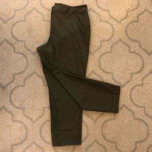 Talbots Olive Green Pants